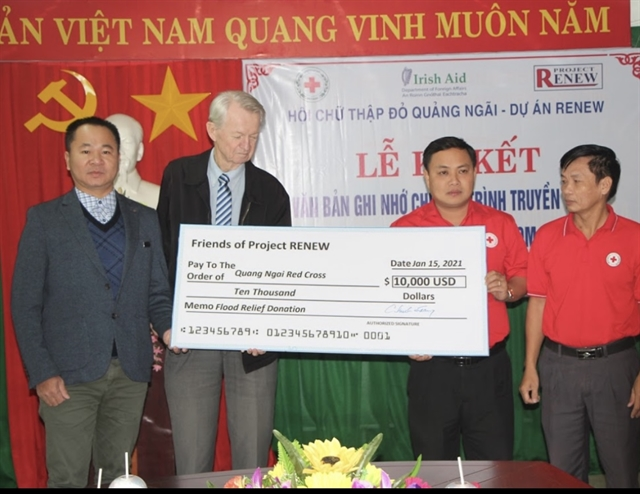 American veterans deliver flood relief for Việt Nam